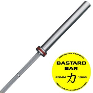 Bastard vzpieračská tyč pre ženy