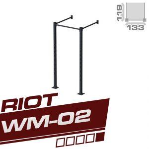 RIOT WM-02 SINGLE CUBE RIG