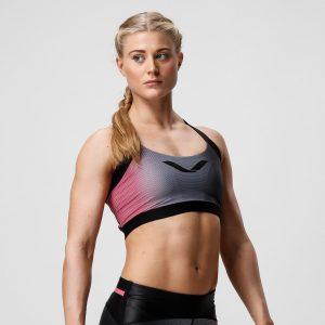 Športová podprsenka - Solar Pink