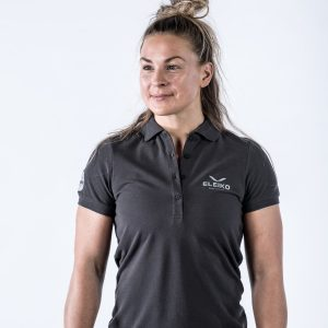 Tričko ženské Energy Polo - Strong Grey