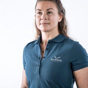 Tričko ženské Energy Polo - Strong Blue