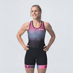 Ženský Singlet - Solar Pink