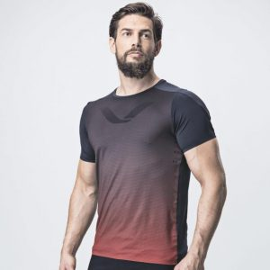 Tričko Elevate - Goji Red
