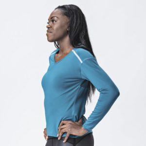 Ženské tričko s dlhým rukávom Grip - Deep Dive