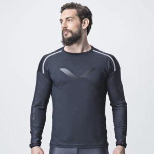 Tričko s dlhým rukávom - Jet Black