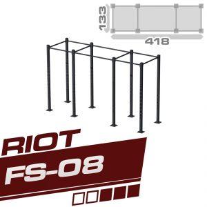 RIOT FS-08 THREE CUBE RIG