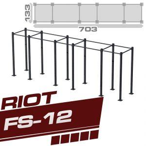 RIOT FS-12 FIVE CUBE RIG