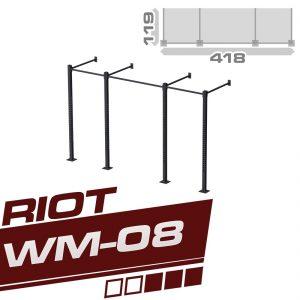 RIOT WM-08 THREE CUBE RIG