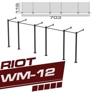 RIOT WM-12 FIVE CUBE RIG