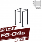RIOT FS-04s SINGLE CUBE RIG