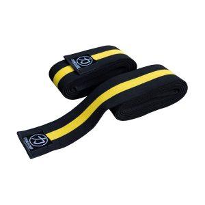 Bandáže na kolená Black/Yellow