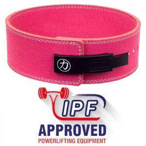 Pákový opasok 10mm - Ružový